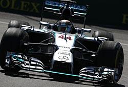 GP Kanada - Lewis Hamilton hatte gegen Nico Rosberg das Nachsehen
