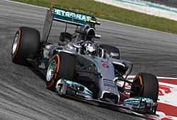 GP Malaysia - Rosberg führt Gesamtwertung an