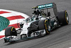 GP Österreich - Nico Rosberg auf dem Weg zum Sieg