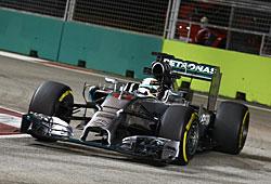 GP Singapur - Lewis Hamilton holt die Pole Position