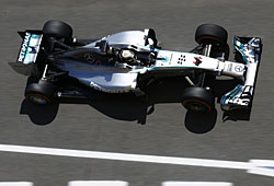 GP Spanien - Hamilton auf Pole Positiion