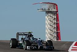 GP USA - Nico Rosberg steht auf der Pole-Position