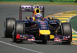 GP Australien - Daniel Ricciardo im Red Bull