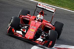 GP Italien - Qualifying: Sebastian Vettel beim Heimspiel für Ferrari  in Monza