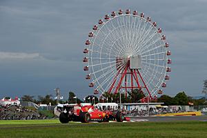 GP Japan - Rennen: Ferrari in Suzuka auf Rang drei und vier