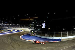 GP Singapur - Rennen: Sebastian Vettel feiert Start-Ziel-Sieg