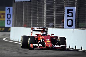 GP Singapur - Qualifying: Sebastian Vettel holt erste Pole-Position mit Ferrari