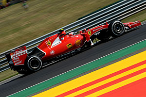 GP Ungarn - Rennen: Sebastian Vettel triumphiert in Ungarn