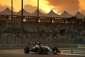 GP Abu Dhabi - Qualifying: Lewis Hamilton