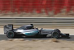 GP Bahrain - Qualifying: Lewis Hamilton im Qualifying am schnellsten