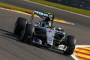 GP Belgien - Qualifying: Nico Rosberg startet von Rang zwei