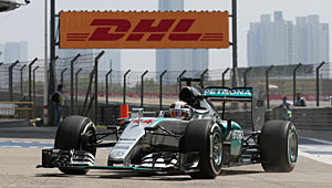 GP China - Qualifying: Lewis Hamilton holt seine 41. Pole-Position