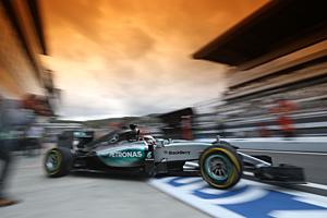 GP Russland - Qualifying: Lewis Hamilton musste sich Nico Rosberg geschlagen geben