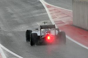 GP USA - Qualifying: Lewis Hamilton im Regen von Austin
