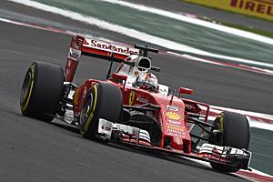 Formel 1 - GP Mexiko - Qualifying: Für Sebastian Vettel im Ferreri mit der Nr. 5 reichte es im Qualifying zu Rang sieben