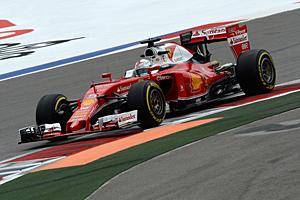GP Russland - Qualifiyng:  Pech für Vettel. Ein Getriebewechsel bringt eine Strafverstzung um fünf Plätze