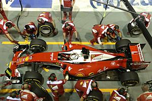 GP singapur - Qualifiyng: Technischer Defekt stoppt Sebastian Vettels Ferrari in Q1
