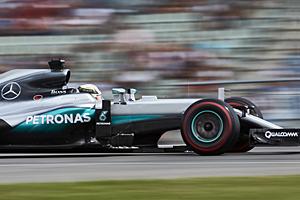 GP Deutschland - Rennen: Lewis Hamilton holt sechsten Saisonsieg