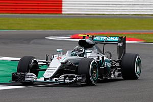 GP Großbritannien - Rennen: Nico Rosberg wurde Zweiter