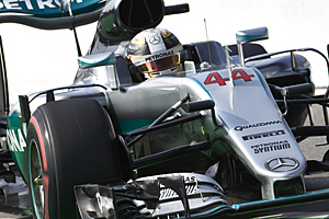 GP Italien - Qualifiyng: Pole-Position für Lewis Hamilton in Monza