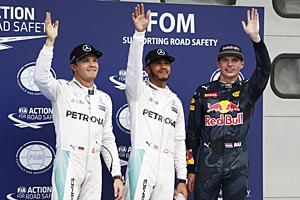 Formel 1 - GP Malaysia - Qualifying: Hamilton vor Rosberg und Verstappen