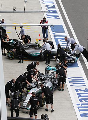 GP Russland- Rennen: Die Arbeit der Teams hat sich gelohnt: Mercedes-Doppelsieg in Russland
