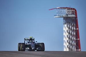 GP USA - Rennen: Nico Rosberg fuhr als Zweiter durchs Ziel