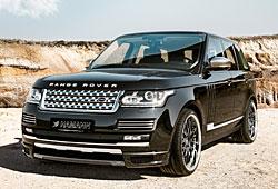 Range Rover Vogue mit Hamann-Veredelungsteilen
