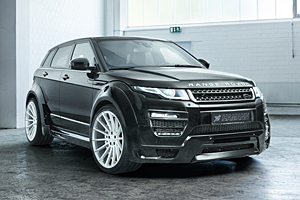 Range Rover Evoque mit Hamann-Motorsport-Anbauteilen