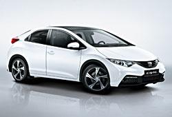 Honda Civic mit sportlichem Zubehör