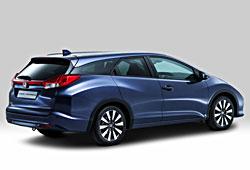 Honda Civic - seitliche Heckansicht