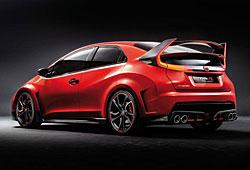 Honda Civic Type R Concept - Heckansicht