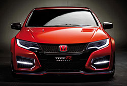 Honda Civic Type R Concept - Frontalansicht