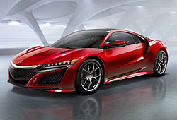 Acura NSX - Frontansicht