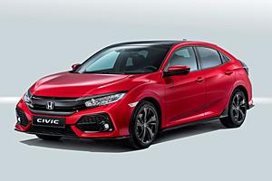 Fünftüriger Honda Civic - Außenansicht