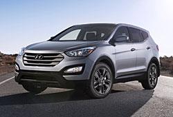 Hyundai Santa Fe Frontansicht