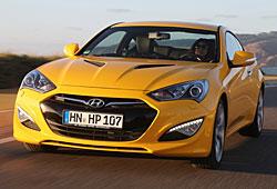 Hyundai Genesis Coupé - Frontansicht