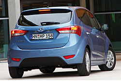 Hyundai ix20 - Heckansicht
