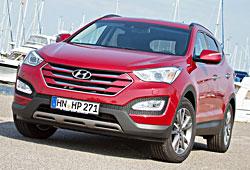 Hyundai Santa Fe 2.0 CRDi Frontansicht