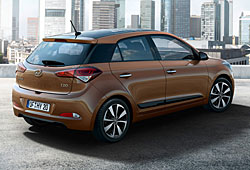 Hyundai i20 - Heckansicht