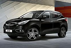 Hyundai ix35 Black & Steel: Sondermodell