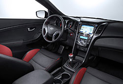 Hyundai i30 Turbo - Cockpit