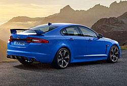 Jaguar XFR-S Heckansicht