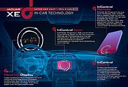 Jaguar XE  In-Control-Infotainmentsystem