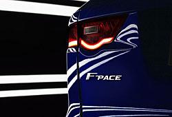 Jaguar F-Pace - Schriftzug