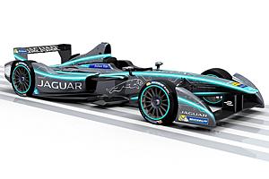 Jaguar Formel-E-Rennauto