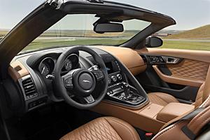 Jaguar F-Type SVR - Cockpit