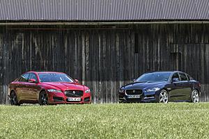 Jaguar XE und XF