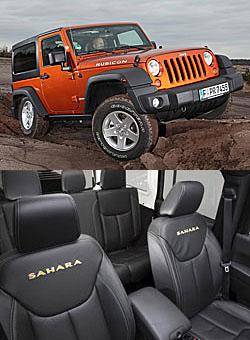 Jeep Wrangler mit neuer Sitzanlage