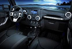 Jeep Wrangler Polar - Innenraumansicht